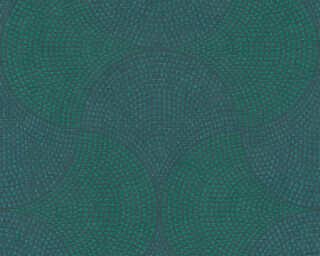 A.S. Création Tapete «Grafik, Blau, Grün, Metallics» 380271