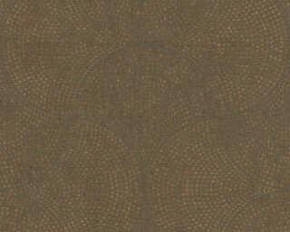 A.S. Création Vliestapete «Grafik, Braun, Metallics» 380273