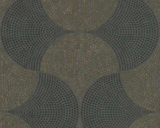 A.S. Création Vliestapete «Grafik, Grau, Metallics, Schwarz» 380274