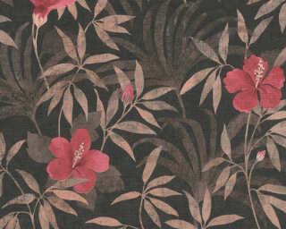 A.S. Création Обои «Графика, Флора, Коричневыe, Красные, Черные» 380283