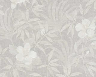 A.S. Création Tapete «Grafik, Floral, Beige, Grau, Metallics» 380284