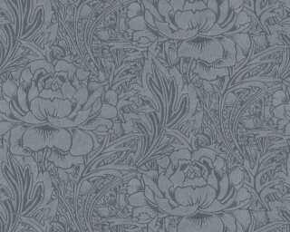 Livingwalls флизелин «Флора, Серыe, Черные» 380924