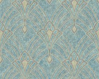 Livingwalls флизелин «Барокко, Зеленые, Коричневыe, Синие» 380942