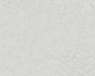 A.S. Création Tapete «Floral, Grau» 381004