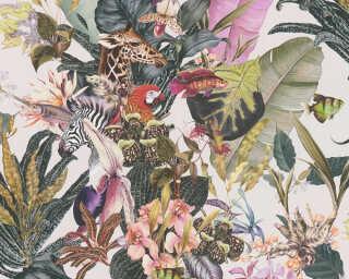 A.S. Création флизелин «Флора, Разноцветные» 381763