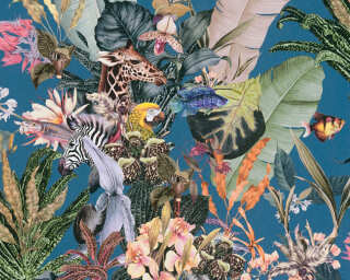A.S. Création флизелин «Флора, Разноцветные» 381764