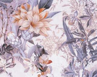 A.S. Création флизелин «Флора, Бежевые, Белые, Фиолетовые» 381772