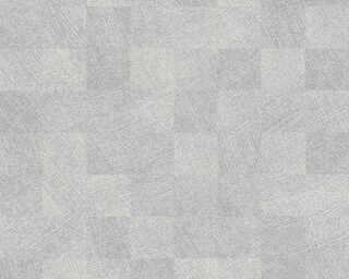 Livingwalls Vliestapete «Fliesen, Grau» 382003