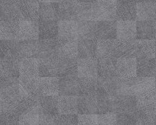 Livingwalls Vliestapete «Fliesen, Grau, Metallics» 382004