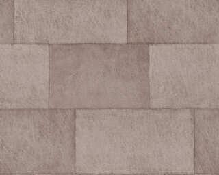 Livingwalls Vliestapete «Fliesen, Braun» 382013