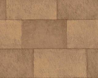 Livingwalls Vliestapete «Fliesen, Braun, Orange» 382014