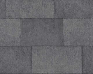 Livingwalls флизелин «Под плитку, Серыe, Черные» 382016