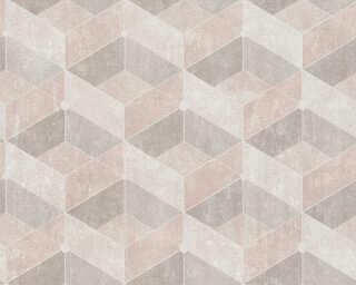 Livingwalls Vliestapete «Fliesen, Beige, Braun, Creme» 382021