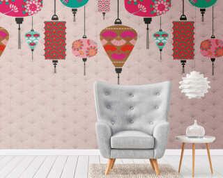 Livingwalls флизелин «Кремовые, Разноцветные, Розовые» 382481
