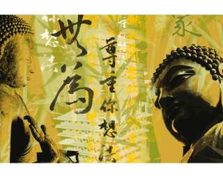 Architects Paper Photo wallpaper «Budda Glow» 470003
