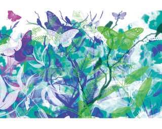 Architects Paper Photo wallpaper «Butterfly Garden» 470004