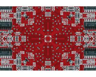 Architects Paper Photo wallpaper «Electric Red» 470008
