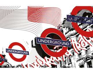 Architects Paper Photo wallpaper «Underground Traffic» 470023
