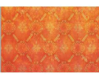 Architects Paper Photo wallpaper «Used Look Orange» 470029