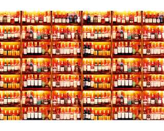 Architects Paper Photo wallpaper «My Bottles» 470093