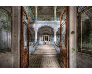 Photo wallpaper «Vintage Villa Entrance» 470282