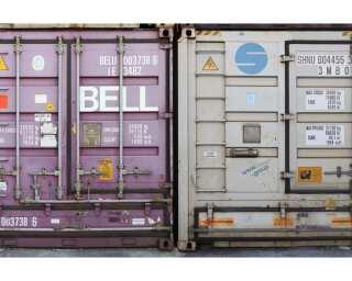 Livingwalls Photo wallpaper «Container-Grey» 4702884