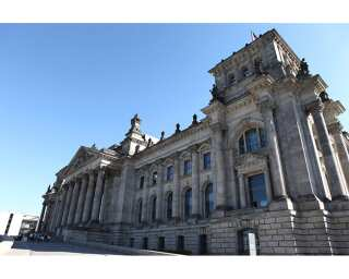 Photo wallpaper «Reichstag» 470290