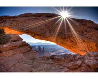 Photo wallpaper «Mesa Arch» 470294