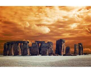 Photo wallpaper «Stone Henge» 470301