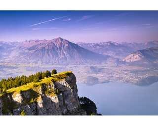 Fototapete «Mountain View» 470384