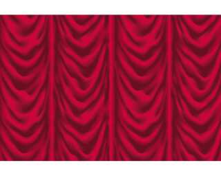 Architects Paper impression numérique «Red Curtain» 470414