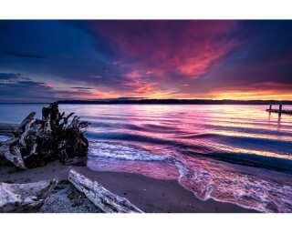 Fototapete «Glowing Sea» 470455