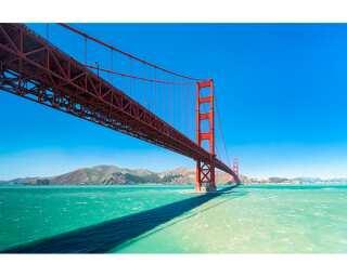 Livingwalls Fototapete «Golden Gate» 470599