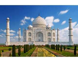Livingwalls Fototapete «Taj Mahal» 470618