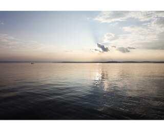 Livingwalls Photo wallpaper «Sundown at Sea 1» 470620