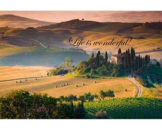 Livingwalls Photo wallpaper «Life is...» 470655
