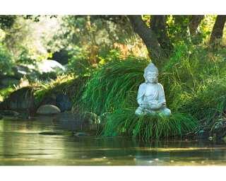 Livingwalls Photo wallpaper «Buddha at Lake» 4706641
