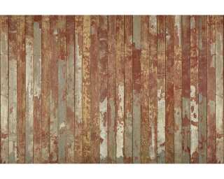 Architects Paper Fototapete «Old Floor Red» 470768