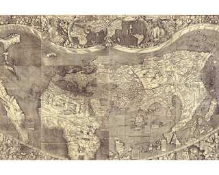 Architects Paper Fototapete «Old Map» 470826