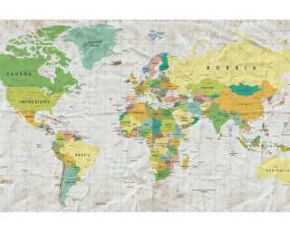 Architects Paper Fototapete «Old Map» 470827