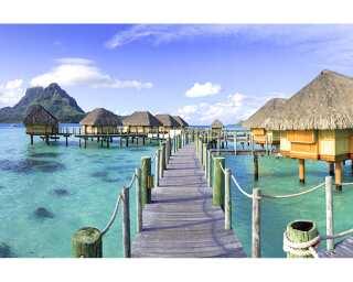 Architects Paper Fototapete «Tahiti Village» 470842