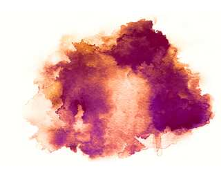 Fototapete «Water Color Red» 470853