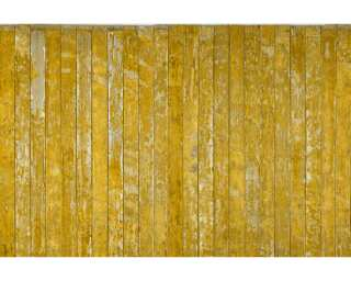Architects Paper Fototapete «Old Wooden Floor Yellow» 470854