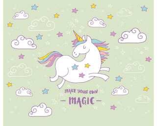 Livingwalls Фотообои «Unicorn Magic Grey» 4709372