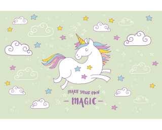 Livingwalls Фотообои «Unicorn Magic Grey» 4709374