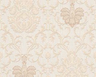 A.S. Création Tapete «Blumen, Beige, Weiß» 538017