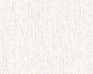 A.S. Création papier peint «Textile, beige, blanc, orange» 559876