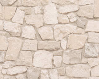 A.S. Création Wallpaper «Stone, Beige, Brown, Coloured» 692429