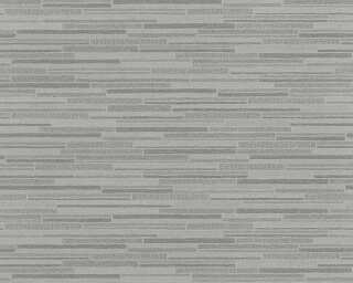 A.S. Création Wallpaper «Stone, Black, Grey» 709714