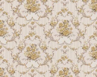 A.S. Création Wallpaper «Baroque, Beige, Brown, Gold, Metallic» 765710